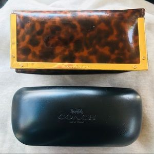 Tory Burch and Coach - Sunglass Cases